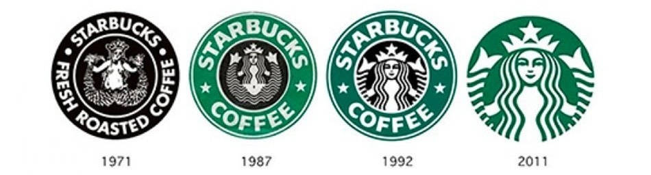 história do logotipo Starbucks