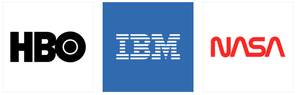 Nasa Hbo Ibm Logotipos