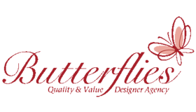 Butterflies Design Logo