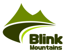 Blink Mountains Logaster Logo