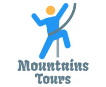Mountains Tours Logaster Logo