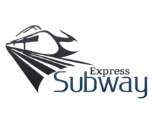 Express Subway Logaster Logo