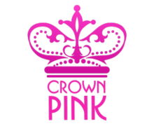 Crown Pink Logaster Logo