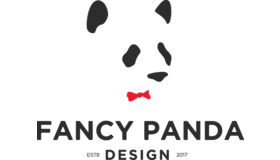 Fancy Panda Design Logo