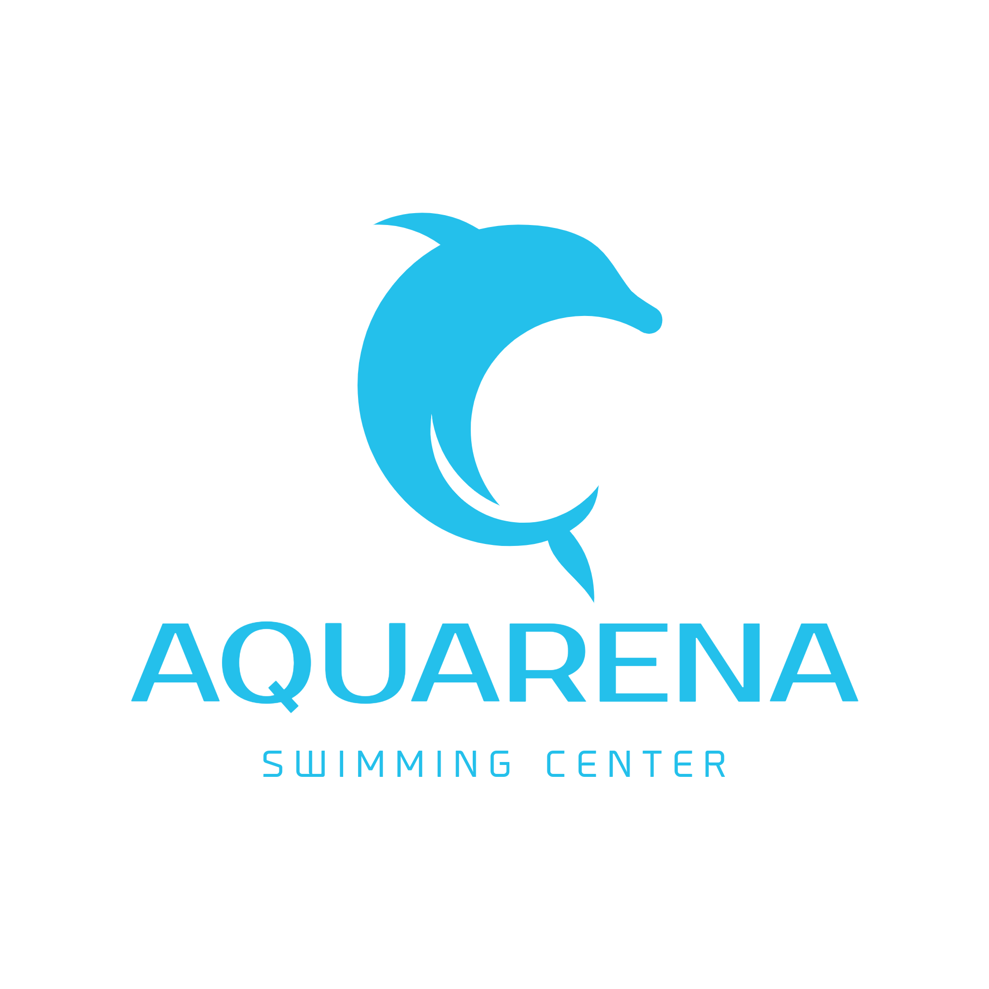 Aquarena Swimming Center Logaster logo