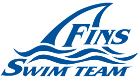 Fins Swim Team Logo