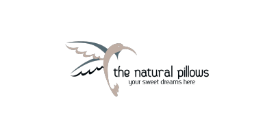 Natural Pillows Logaster Logo