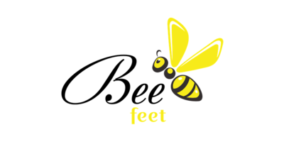 Bee Feet Logaster Logo
