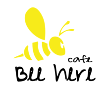 Bee Here Cafe Logaster logo