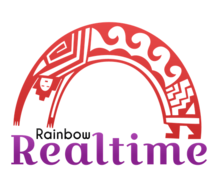 Real Time Rainbow Logaster Logo