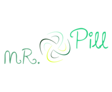 Mr Pill Logaster Logo