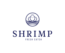 Shrimp Fresh Logaster Logo