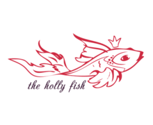 The Holly Fish Logaster logo