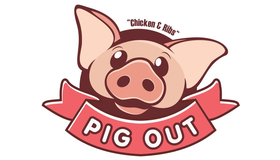 Pig Out Logo