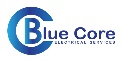 Blue Core Electrical Logo