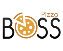 Boss Pizza Logaster Logo
