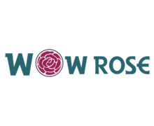 WOW Rose Logaster logo