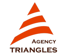 Agency Triangles Logaster logo